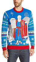 Blizzard Bay Men's the Naughty Tablet Ugly Christmas Sweater