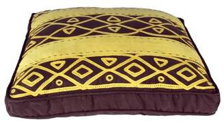 Karma Living African Embroidery Throw Pillow (Set of 2