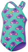 Speedo Toddler Girl's Koala Medalist One Piece Swimsuit