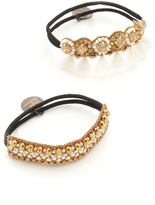 Deepa Gurnani Deepa by Tassel Ponytail Holders