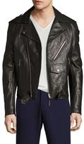 Maison Margiela Leather Motorcycle Jacket