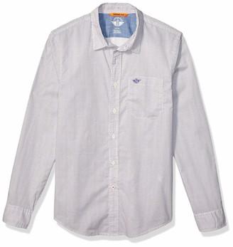 Dockers Long Sleeve Original Button Down Washed Shirt