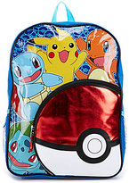 "Faberge Pokemon Pokeball 16"" Backpack"