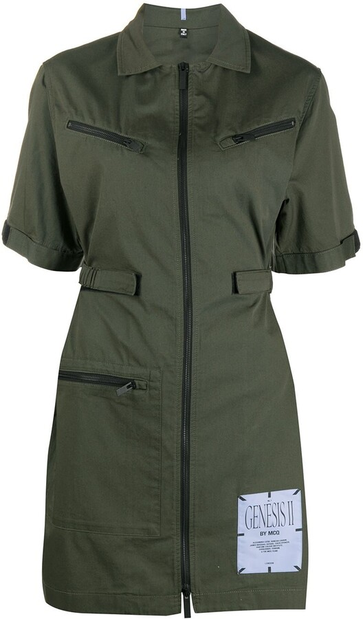 McQ Fitted Cargo Dress