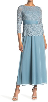 Marina Mother-of-the-Bride Lace Gown