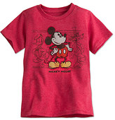 Disney Mickey Mouse and Friends Tee for Boys - Red