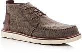 Toms Men's Wool Tweed Chukka Boots