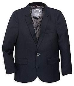 Appaman Little Boy's & Boy's Solid-Color Suit Jacket