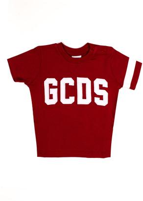 GCDS Red Cotton T-shirt
