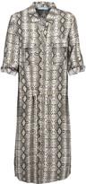 Melissa Odabash Paige snake-print broadcloth dress
