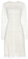 Oscar de la Renta Crochet Cotton-blend Dress