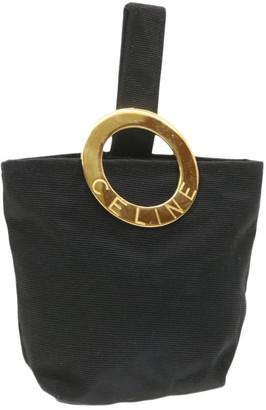 Celine Black Cloth Travel bags