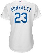 Majestic Women's Adrian Gonzalez Los Angeles Dodgers Replica Jersey