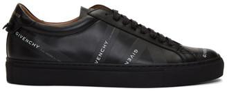 Givenchy Black Logo Tape Urban Street Sneakers