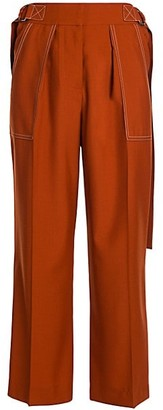 Marni Tropical Wool Cropped Trousers