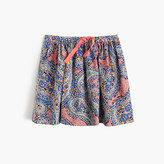 J.Crew Girls' pull-on skirt in paisley