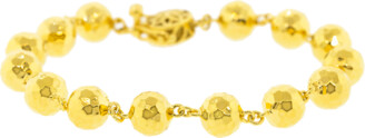 BUDDHA MAMA Hammered Ball Chain Bracelet