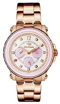 Juicy Couture Women's 1901383 Hollywood Analog Display Japanese Quartz Rose Gold-Tone Watch