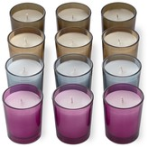 Williams-Sonoma Williams Sonoma Fall Colored Filled-Glass Votive Candles, Set of 12