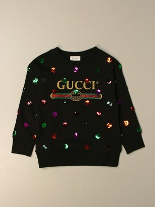 Gucci Crewneck Sweatshirt With Logo