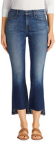J Brand Selena Mid-Rise Crop Boot Cut in Decoy
