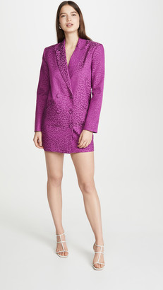 Mason by Michelle Mason Oversized Blazer Dress