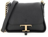 Thumbnail for your product : Tod's Timeless T Logo Plaque Mini Crossbody Bag
