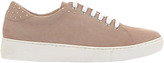 Mint Velvet Amber Studded Trainers, Light Pink