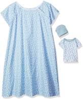 Mud Pie Bundle of Joy Hospital Gown and Newborn Baby Set