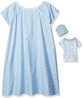 Mud Pie Bundle of Joy Hospital Gown & Newborn Baby Set, Light