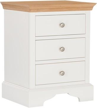John Lewis & Partners Lymington 3 Drawer Bedside Table