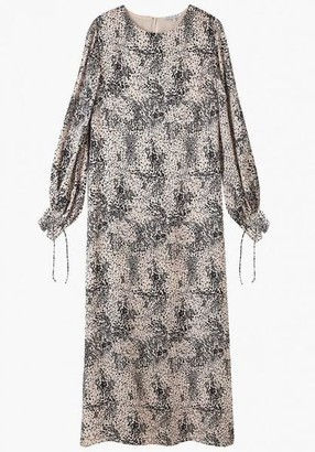 Lily & Lionel Vanessa Dress Painted Leopard - xsmall
