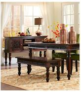 Home Decorators Collection Maharaja Walnut 53 in. W Dining Bench
