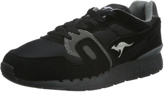 KangaROOS Unisex Adults Omnicoil II Low-Top Sneakers Black Size: 10