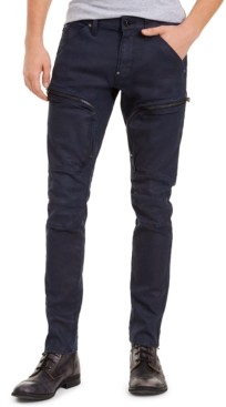 G Star Men's Skinny-Fit Stretch Air Defence Zip Jeans