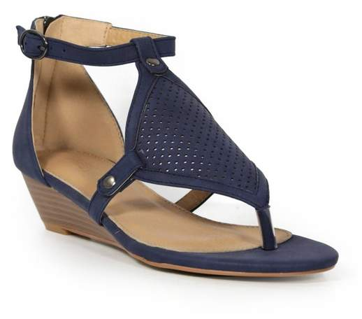 Catherine Malandrino Romy Low Wedge Sandal