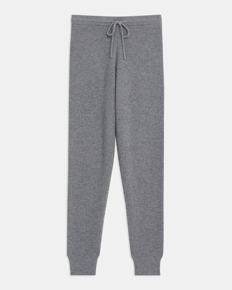 Theory Jogger Pant in Waffle-Knit Cashmere