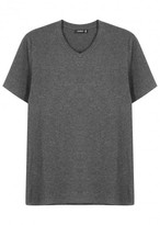 Vince Grey Pima Cotton T-shirt