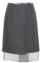 Acne Studios Pait wool skirt
