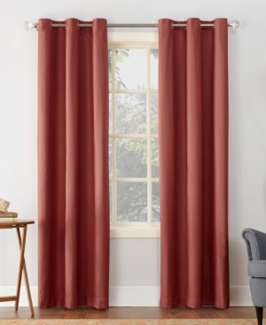"Sun Zero Cooper 40"" x 95"" Thermal Insulated Grommet Top Curtain Panel"