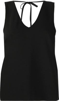Ganni V-neck sleeveless top
