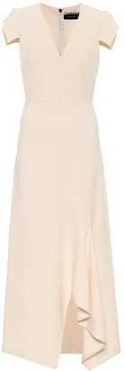 Roland Mouret Kingslake crepe dress