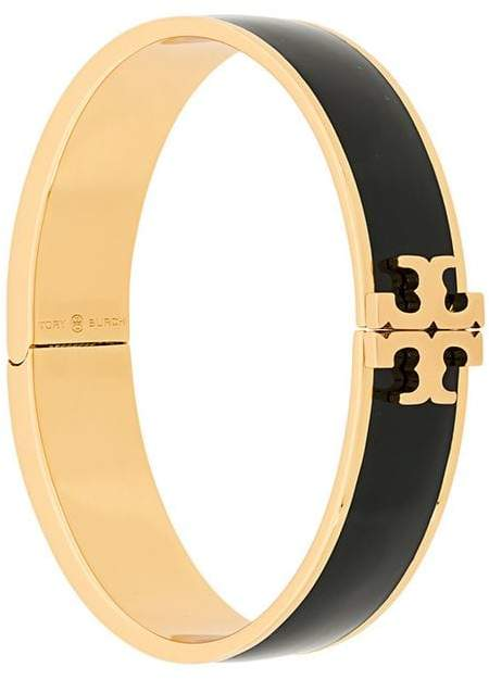 Tory Burch enameled raised logo bracelet