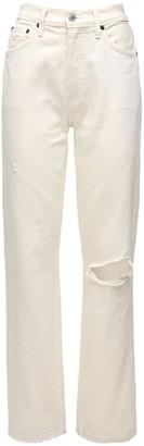 RE/DONE High Waist 90s Loose Cotton Denim Jeans