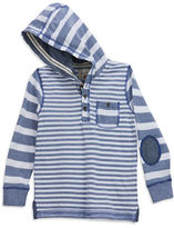 Sovereign Code Boys 2-7 Bayless Striped Sweater with Hoodie