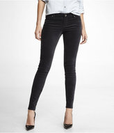 Express Stella Stretch Velvet Legging