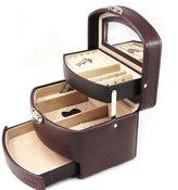 Davidt's Jewellery box 'L'audacieuse' brown chocolate.