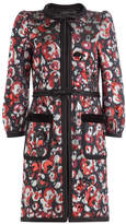 Marc Jacobs Printed Coat with Sequins