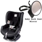 Peg Perego Primo Viaggio Convertible Car Seat w Back Seat Mirror - Licorice by