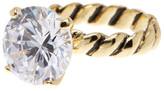 Ariella Collection Round CZ Statement Ring